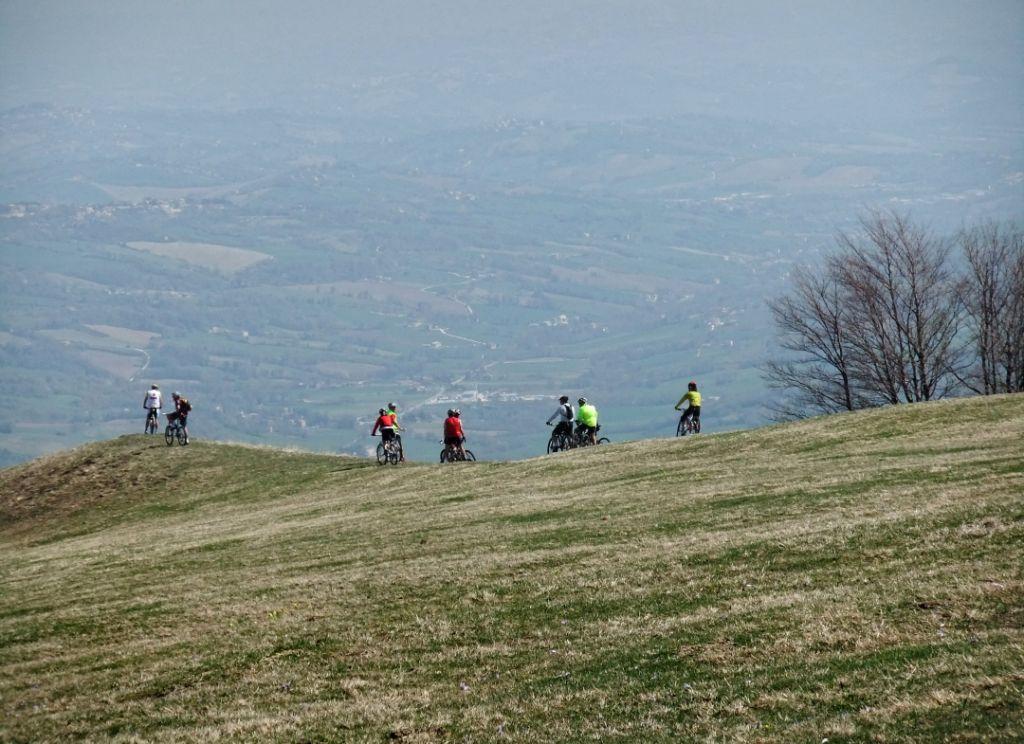 Sentiero del capretto sibillini bike map for Piani di fattoria del vermont