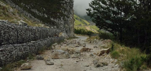 terremoto strada del fargno