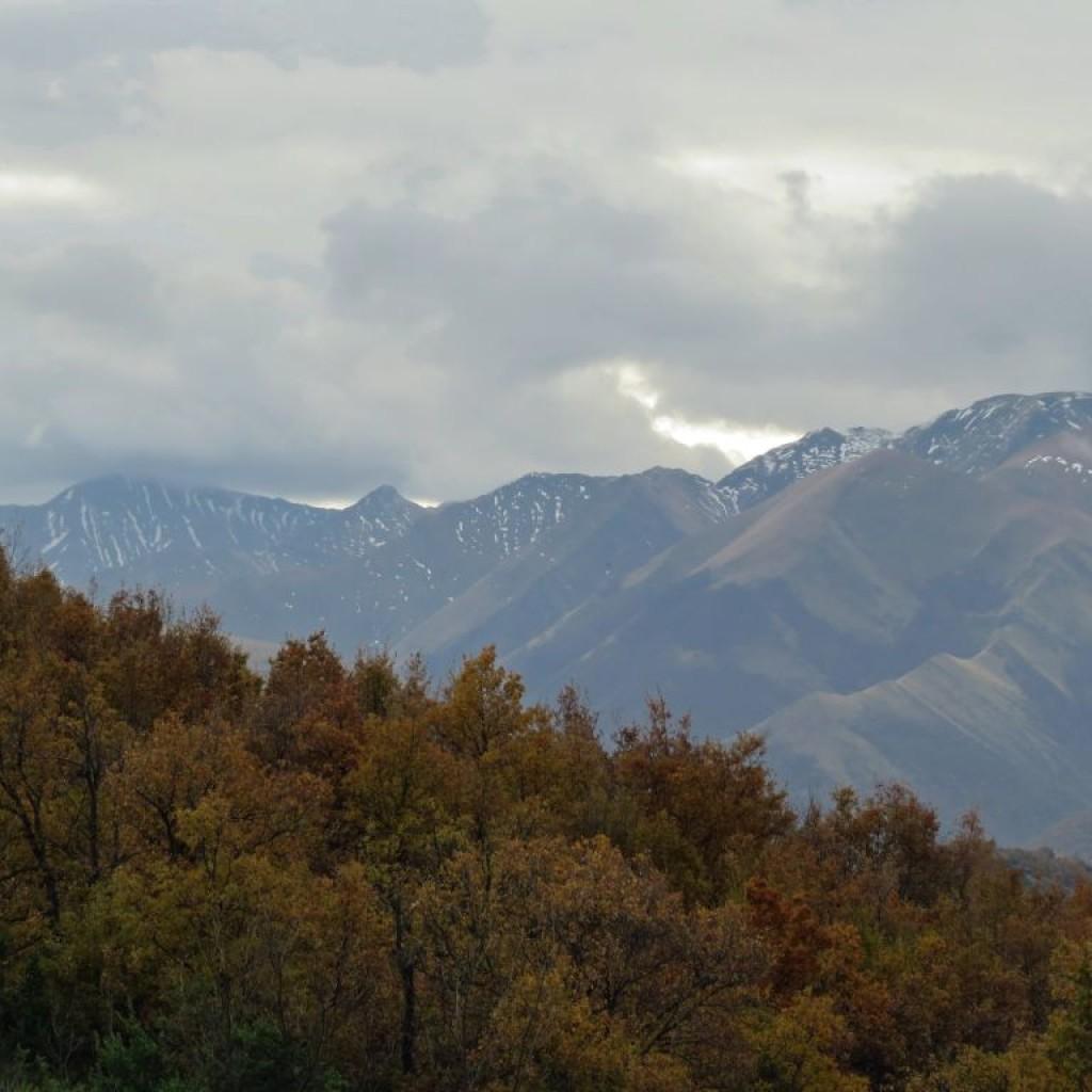 panorama sui sibillini
