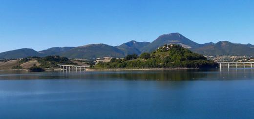 monte san vicino - lago di castreccioni