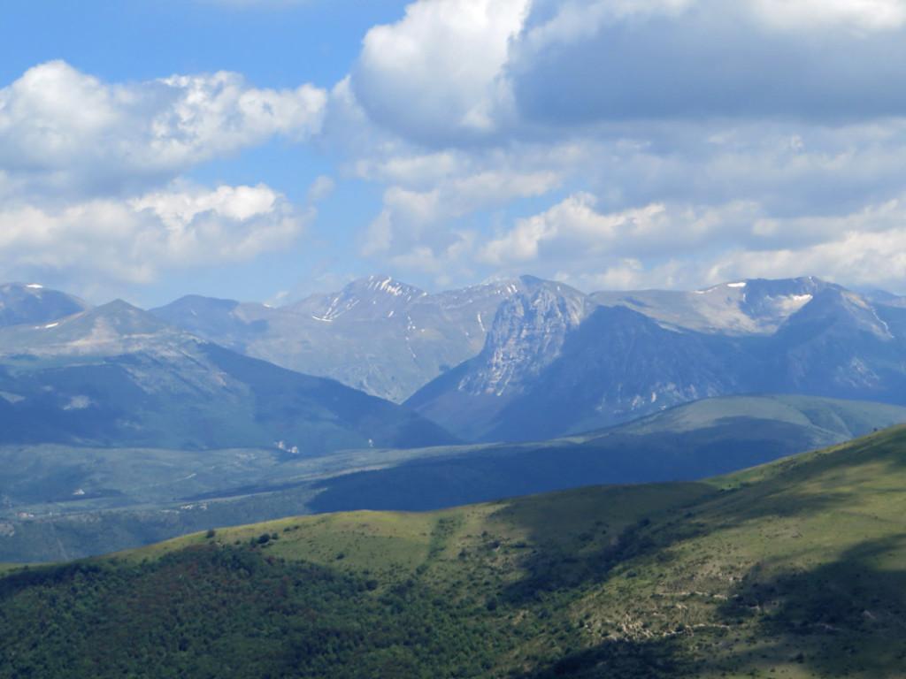 monte bove e valle dell'ussita